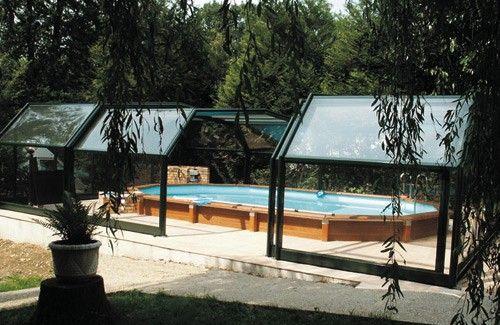 Amenagement piscine avec dome - Amenagement piscine semi enterree ...