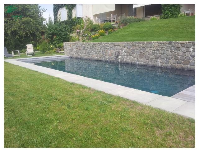 Amenagement piscine avec muret - Amenagement piscine exterieur ...