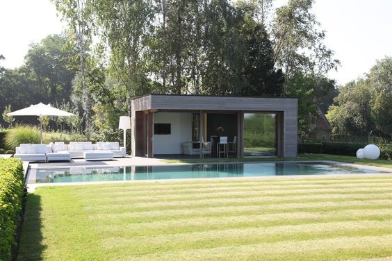 Pool House Piscine amenagement piscine avec pool house