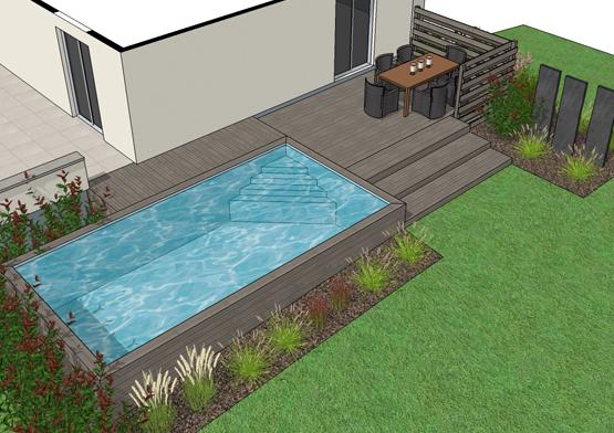 Amenagement piscine bas rhin - Amenagement exterieur piscine hors sol ...