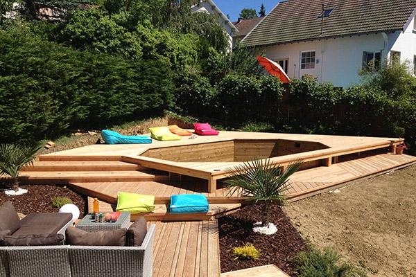 amenagement piscine bois hors sol. Black Bedroom Furniture Sets. Home Design Ideas