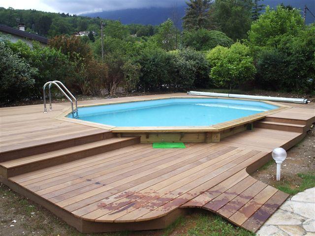 amenagement piscine bois photo. Black Bedroom Furniture Sets. Home Design Ideas