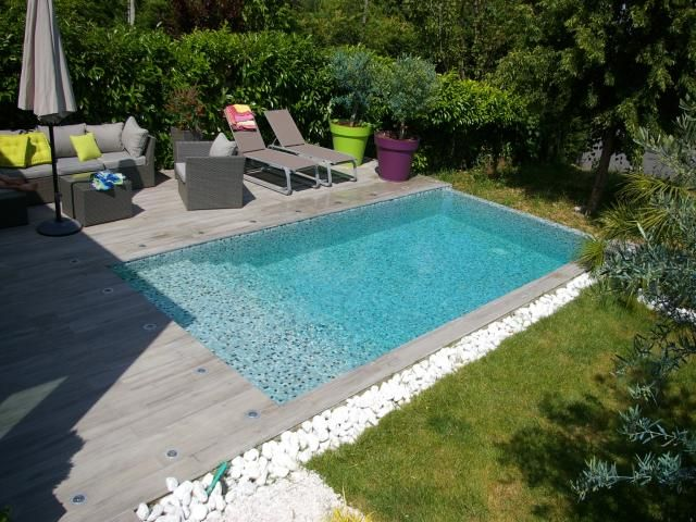 amenagement piscine carree
