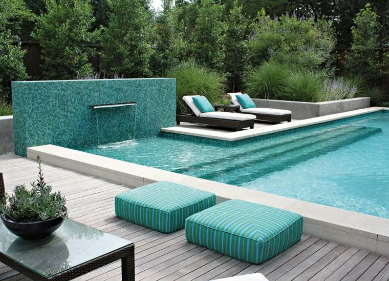 amenagement piscine contemporaine