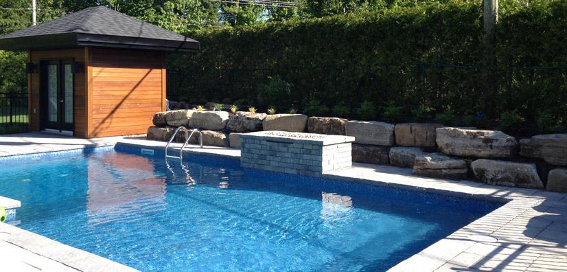 Amenagement piscine creusee - Amenagement exterieur piscine creusee ...