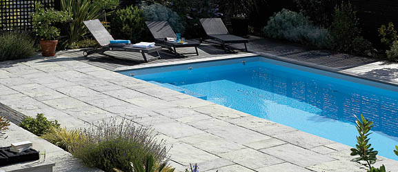amenagement piscine dalle