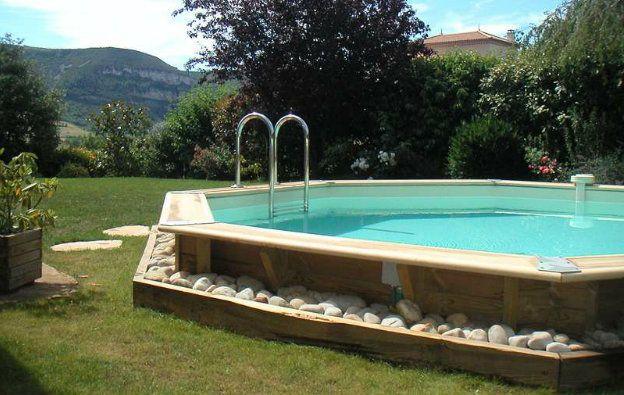 Amenagement piscine en bois hors sol - Amenagement terrasse piscine ...
