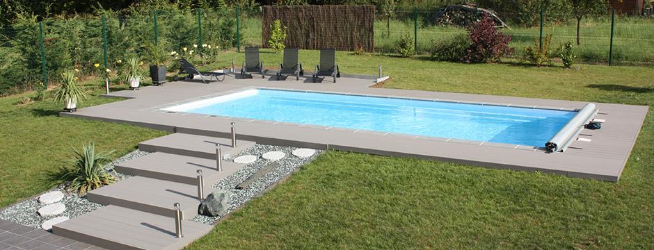 Amenagement piscine enterree - Piscine enterree coque ...