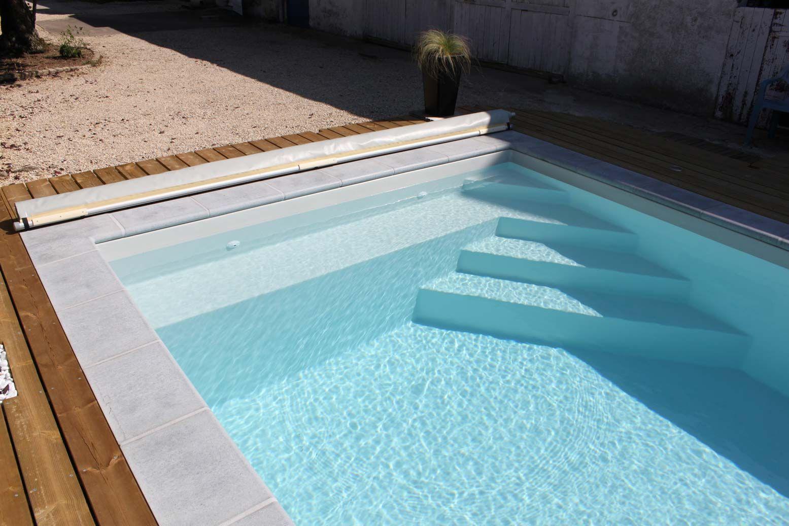 amenagement piscine escalier