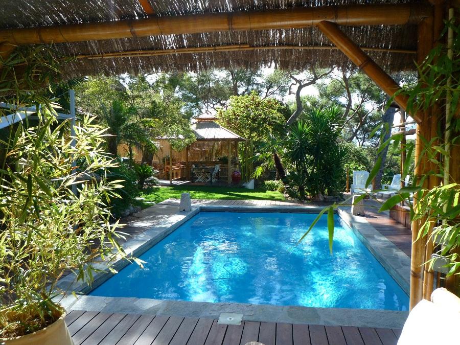 Amenagement piscine exotique Amenagement de jardin avec piscine
