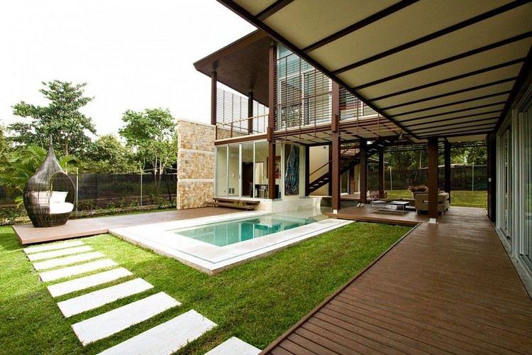 Amenagement Piscine Exterieur Bois - Amenagement de piscine exterieur