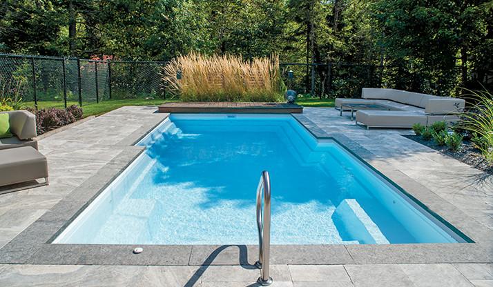 Amenagement piscine fibro - Amenagement exterieur piscine creusee ...