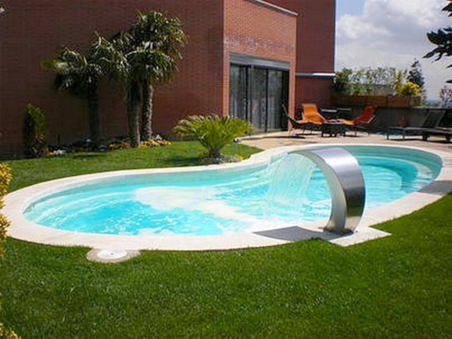 amenagement piscine haricot