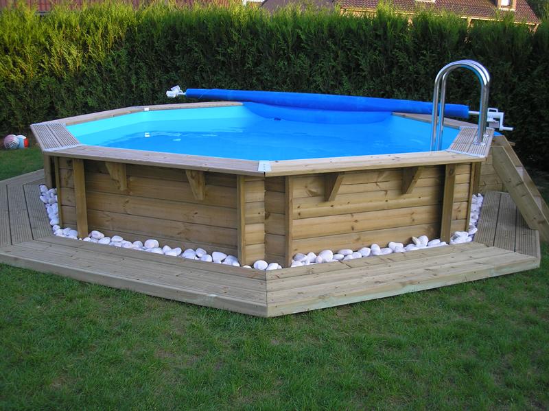 Amenagement piscine hors sol ronde - Contour de piscine hors sol ...