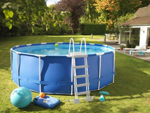 Amenagement piscine hors sol tubulaire - Amenagement piscine hors sol acier ...