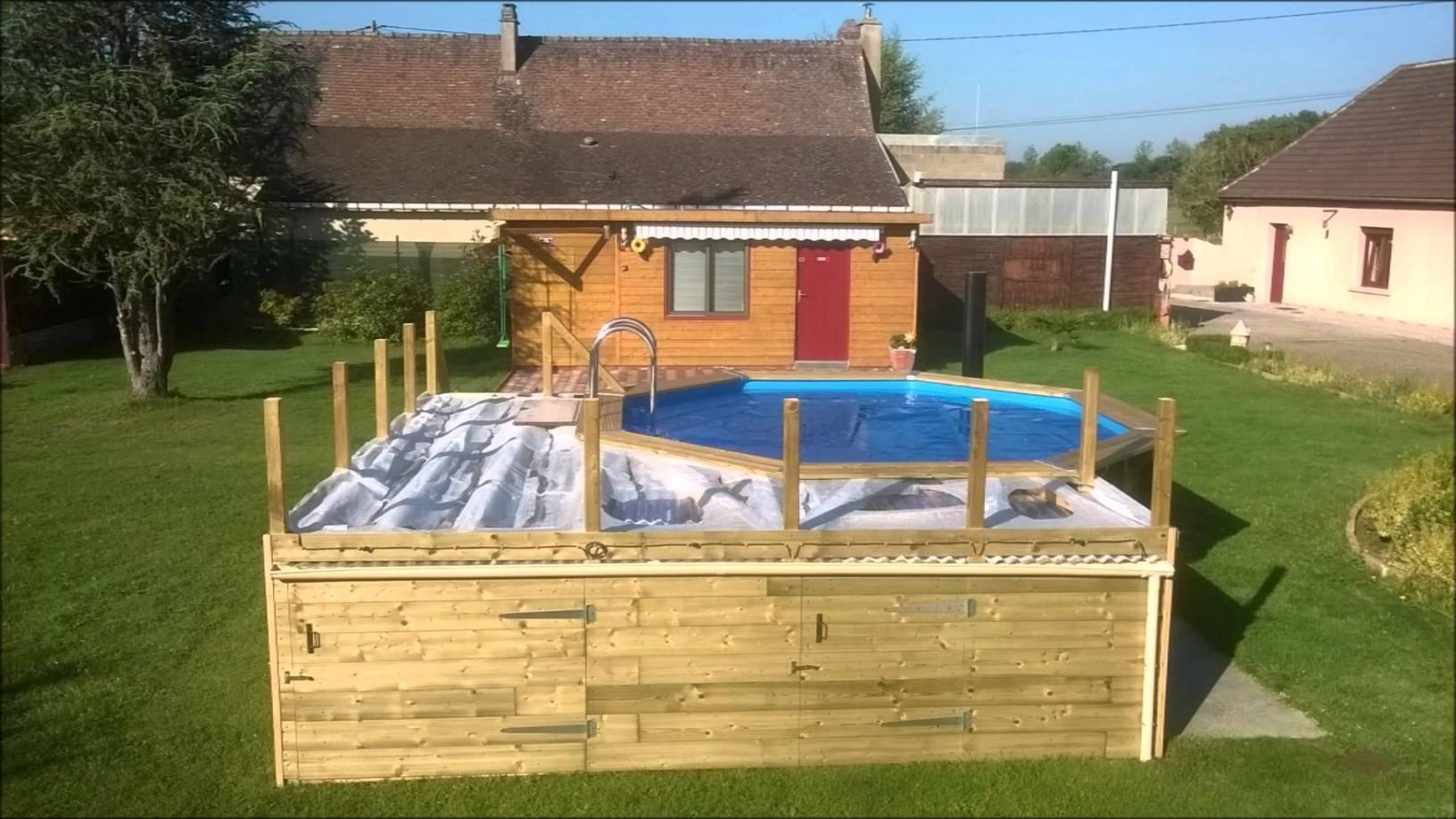 amenagement piscine hors sol. Black Bedroom Furniture Sets. Home Design Ideas