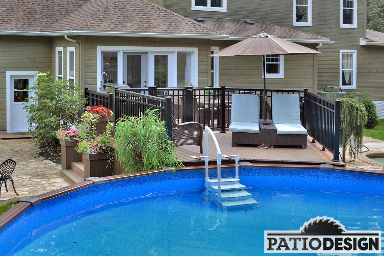 amenagement piscine hors terre et spa