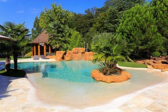 amenagement piscine lagon