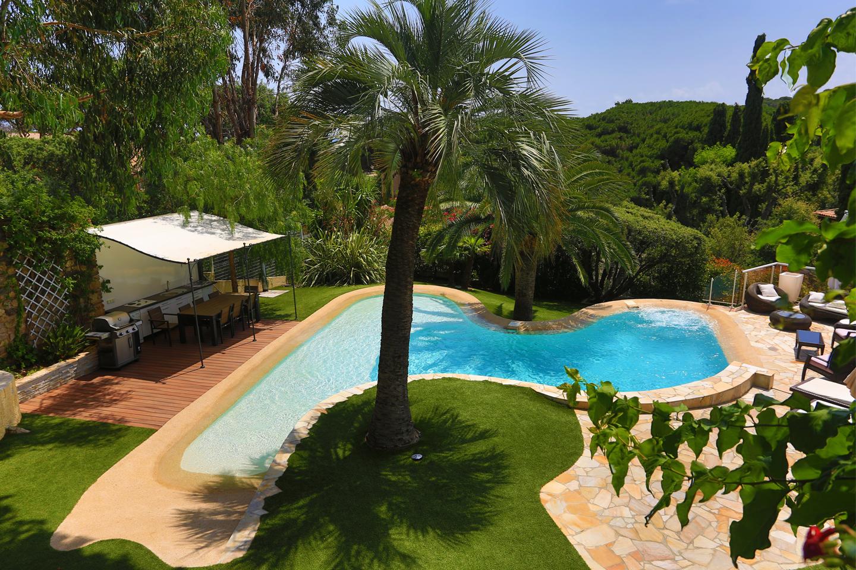 Amenagement piscine lagon - Camping a mimizan plage avec piscine ...