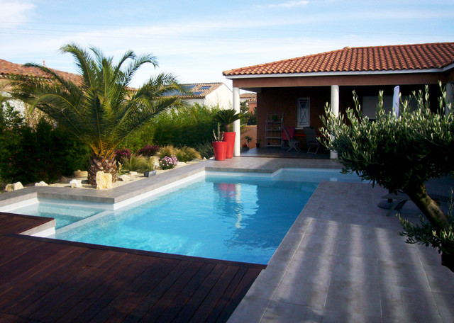 Amenagement piscine montpellier - Amenagement terrasse piscine ...