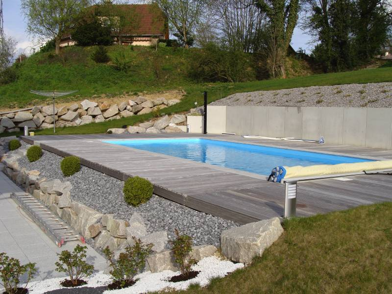 Amenagement Piscine Pente