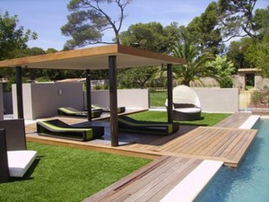 amenagement piscine petit espace