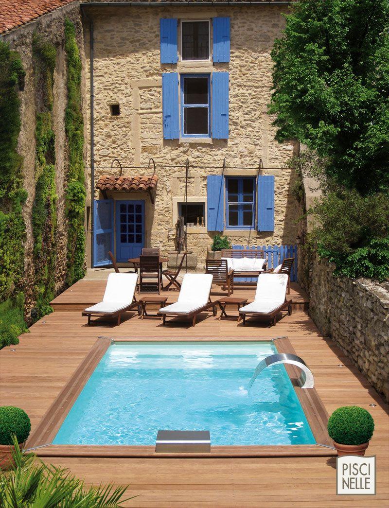 amenagement piscine petit espace. Black Bedroom Furniture Sets. Home Design Ideas