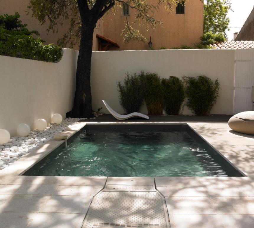 Amenagement piscine petit espace - Amenagement jardin piscine ...