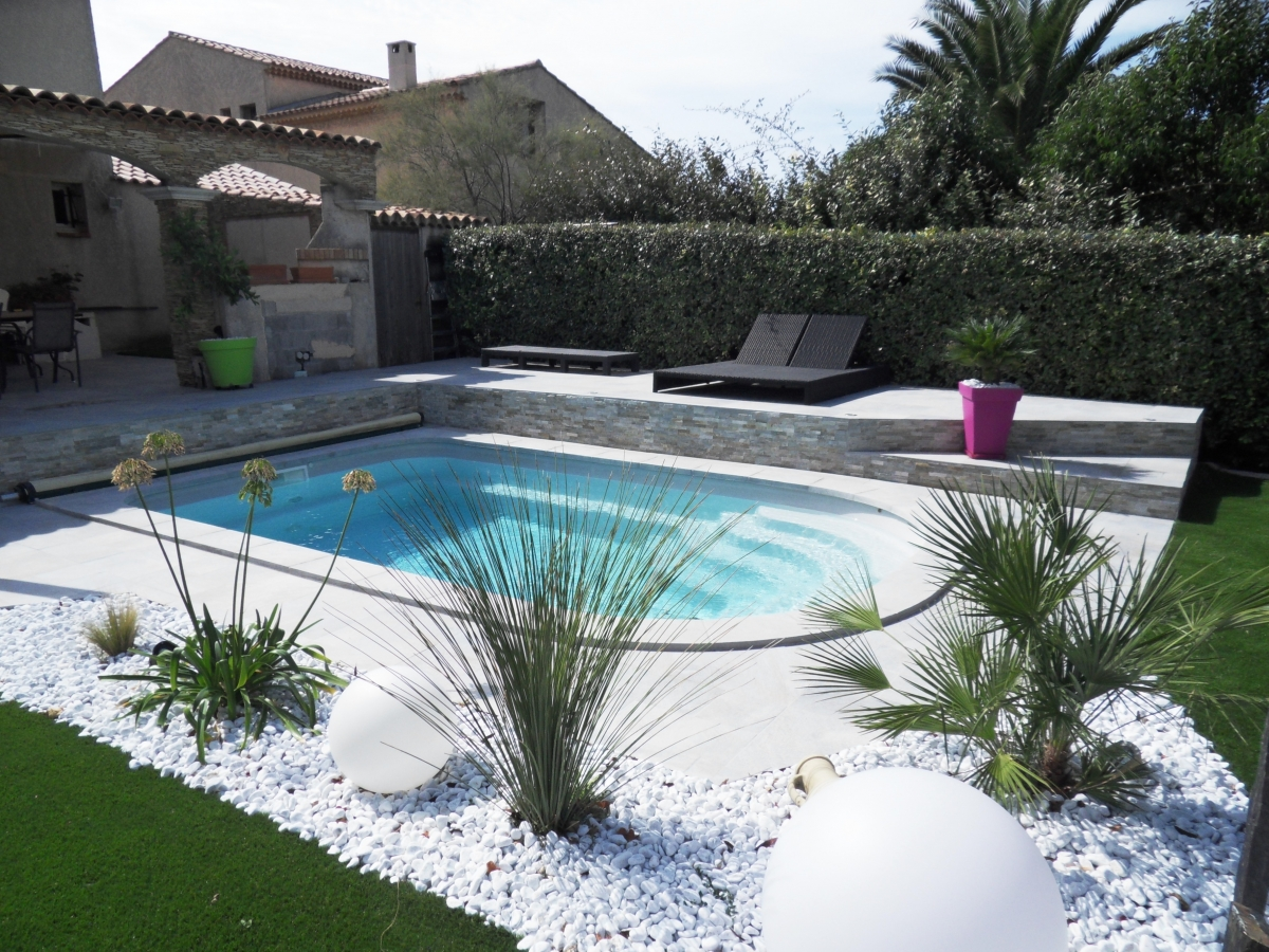 Amenagement piscine photos - Amenagement autour piscine photos ...