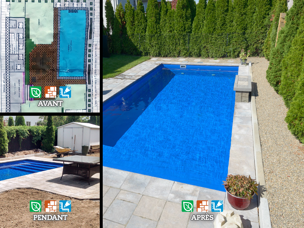 amenagement piscine plan. Black Bedroom Furniture Sets. Home Design Ideas