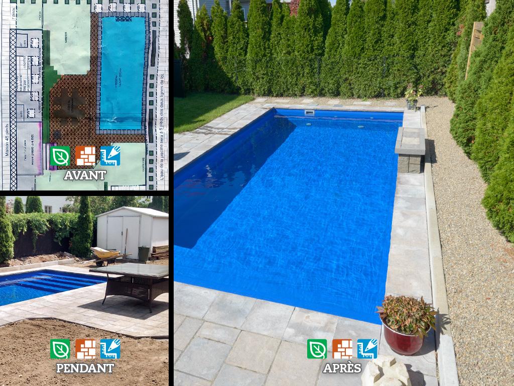 Amenagement piscine plan - Amenagement exterieur piscine creusee ...