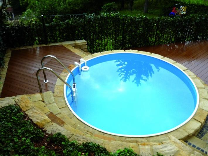 amenagement piscine ronde