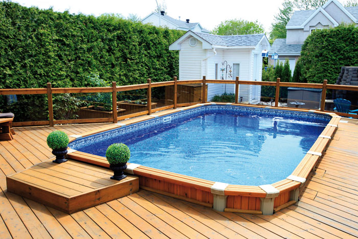 Amenagement Piscine Semi Creusee
