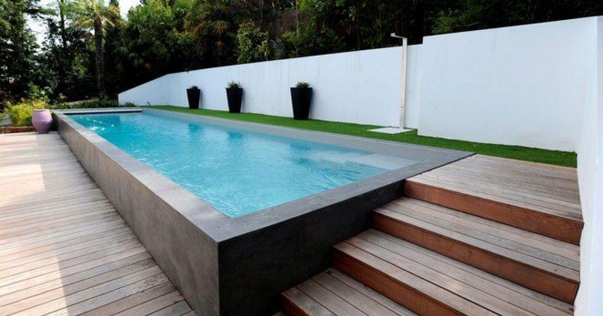 Amenagement piscine semi enterree - Hivernage piscine bois semi enterree ...