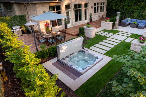amenagement piscine spa