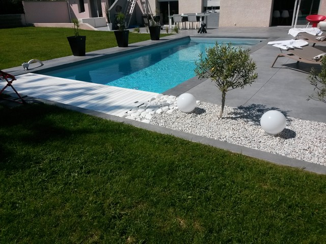 Amenagement Piscine Terrasse Bois - Photo d amenagement piscine