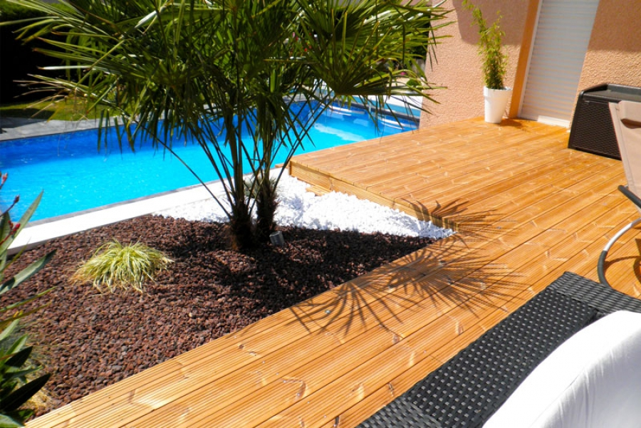 amenagement piscine terrasse
