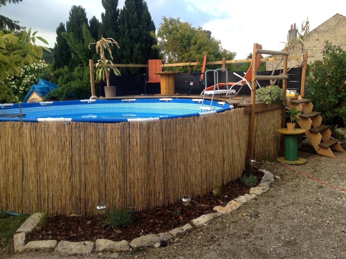Amenagement piscine tubulaire - Amenagement autour d une piscine ...