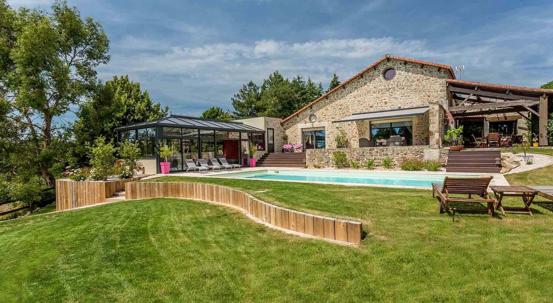 Amenagement piscine vendee - Amenagement terrasse et jardin photo ...