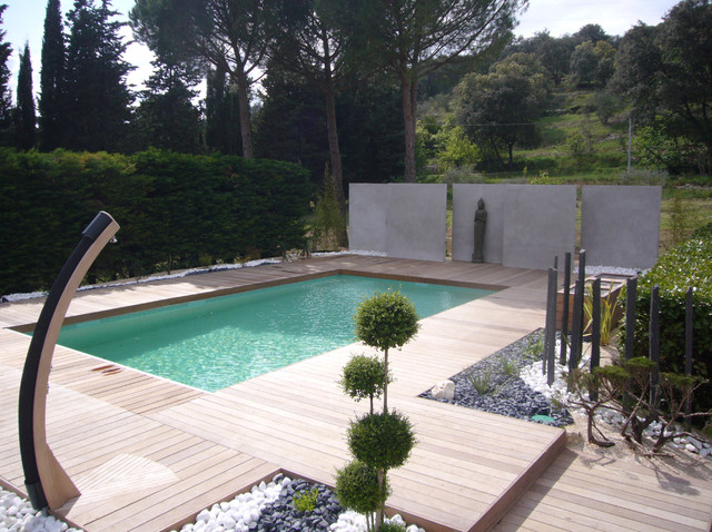 amenagement piscine zen