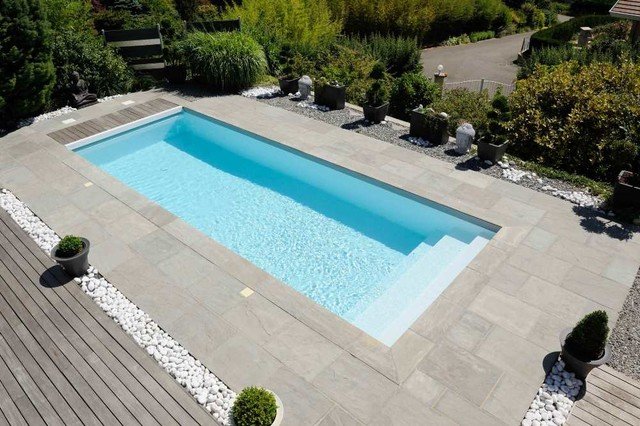 Amenagement piscine zen - Amenagement autour piscine photos ...