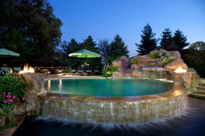 Cascade piscine acier - Cascade pour piscine ...