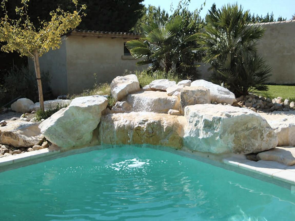 Cascade piscine avec pompe - Cascade pour piscine ...