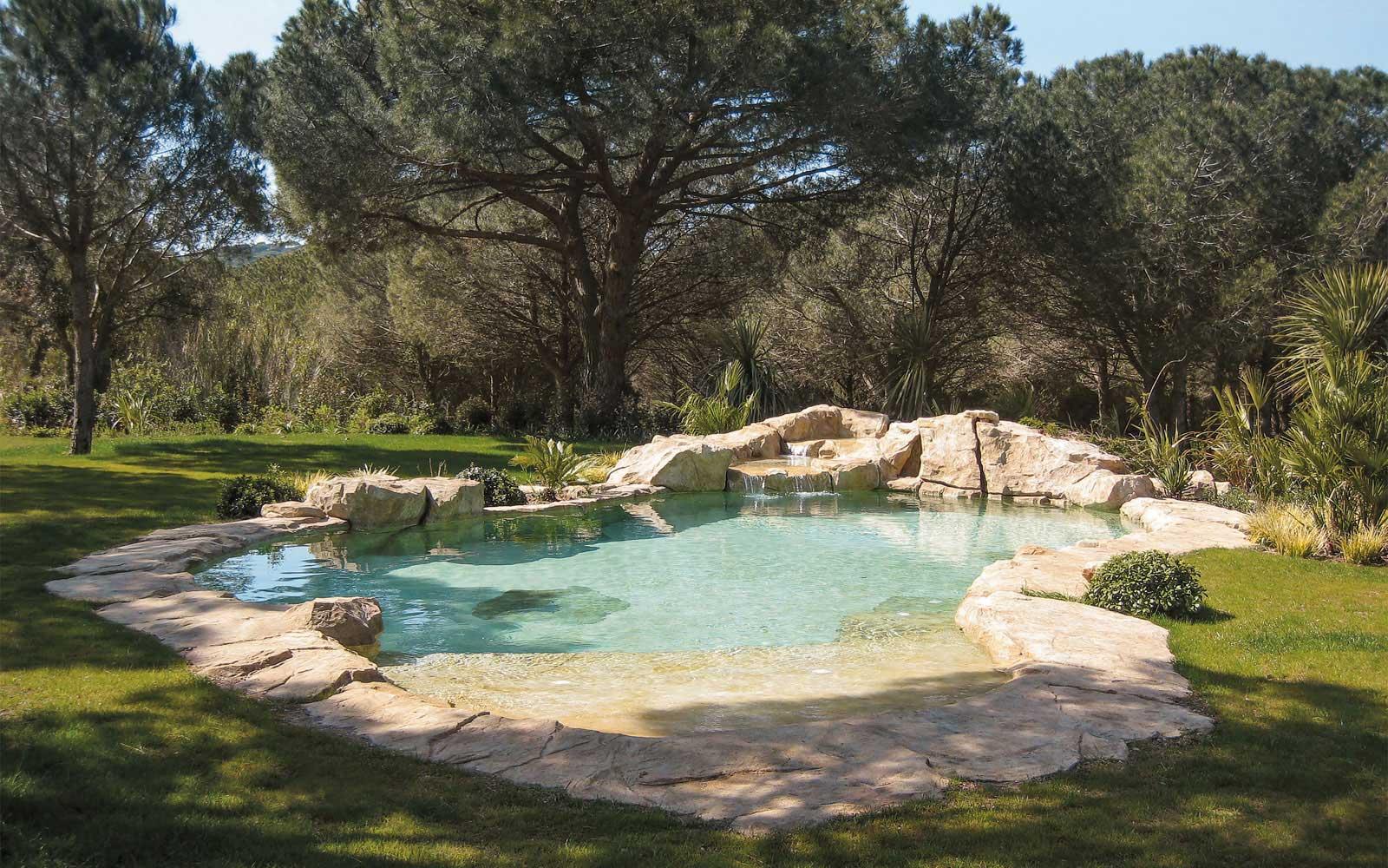 Cascade piscine creusee - Cascade pour piscine ...