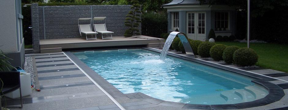 cascade piscine design