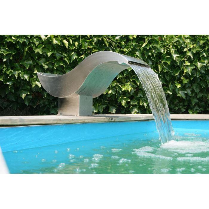 Cascade piscine inox occasion - Cascade d eau piscine ...