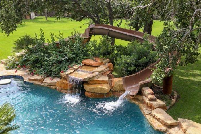 Cascade piscine plastique - Cascade pour piscine ...