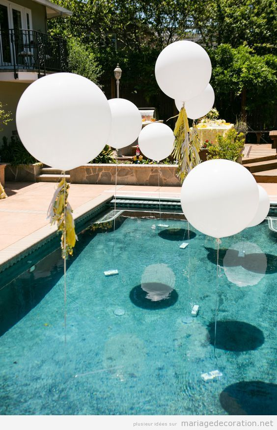 Pool Party Decoracin