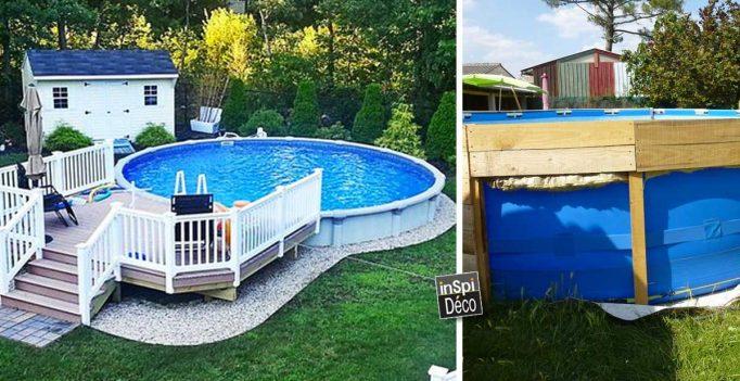 Deco piscine exterieure hors sol - Piscine hors sol photo ...