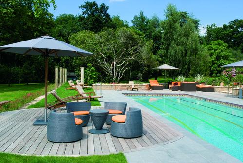 Infinity Pool Garten